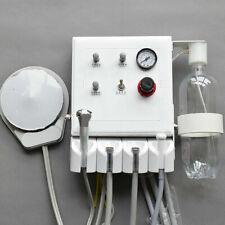 Wall Hanging Portable Dental Turbine Unit3 Way Syringesaliva Ejector 4hole New
