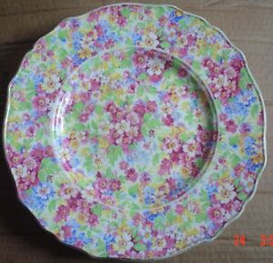James-Kent-Ltd-Longton-APPLE-BLOSSOM-Side-Plate-Circa-1950-039-s