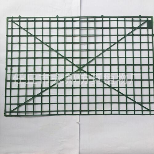10X 60x40cm Wall Plastic Panel Holder Rack For DIY Wedding Flower Foral Backdrop