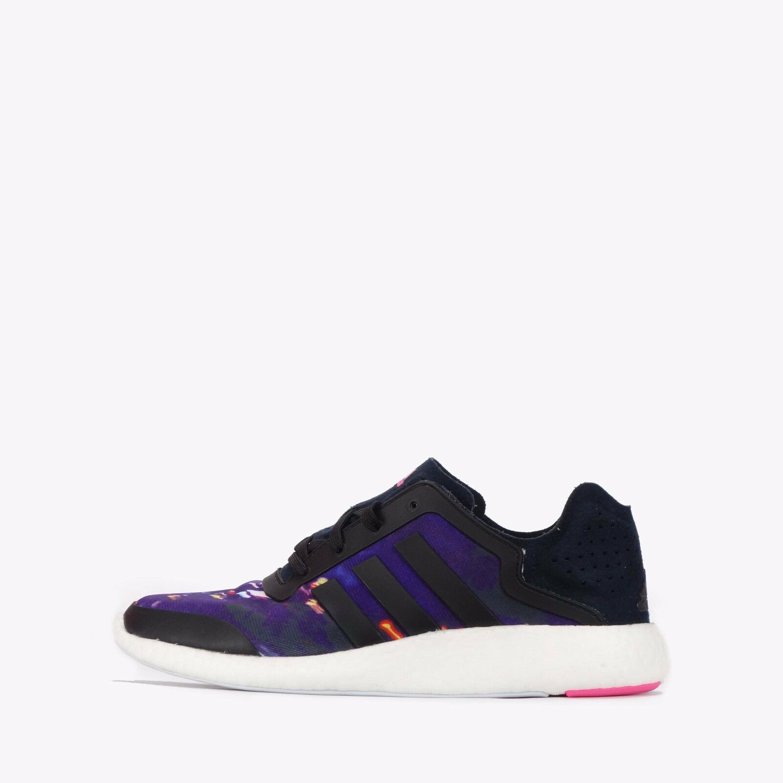 Adidas Pure Boost Women's Running Shoes Black/Multi Colour Seasonal price cuts, discount benefits