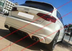 Audi-a3-8v-rear-diffuser-skirt-addition-of-bumper-2013-2016