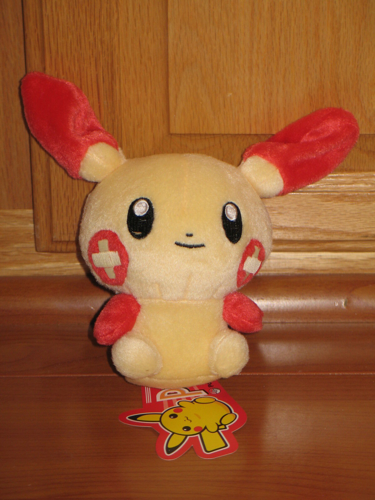 New PLUSLE PokeDoll Pokemon Center Japan Plush Plush Plush Poke Doll Plush Plushie US Seller 7d0f5d