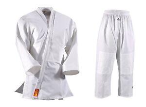 Dan-Rho-Judo-Anzug-Yamanashi-Ohne-Schulterstreifen-110-180-100-Baumwolle