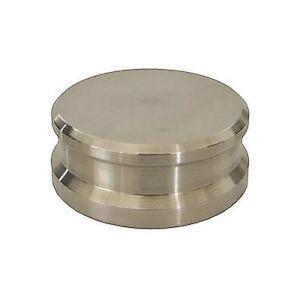 Analogis-Auflagegewicht-Plattentellergewicht-Silver-Metal-silber
