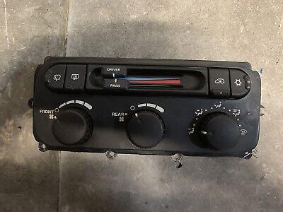 04-2007 Grand Caravan A//C Heat Temperature Climate Control Switch Dual Zone #3