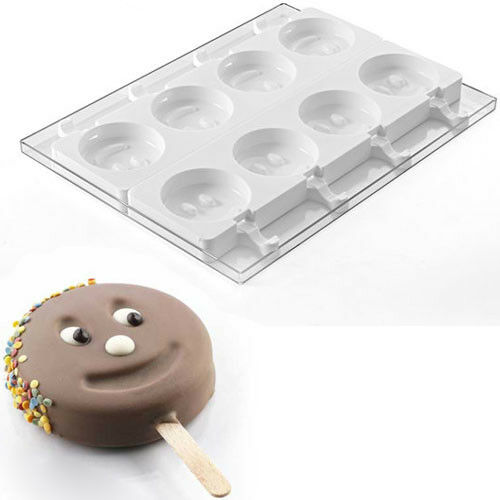 Silikomart Moule en silicone pour ice cream pop Smiley