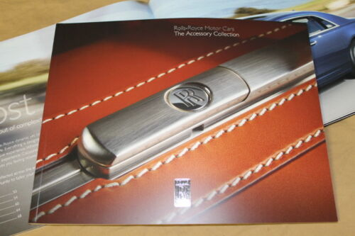 2014 ROLLS-ROYCE The Accessory Collection brochure Phantom Ghost Wraith SALE