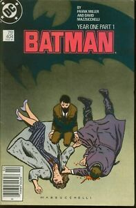 Batman-404-Year-1-Part-1-1st-Modern-Catwoman-FINE-VERY-FINE-White-Pages