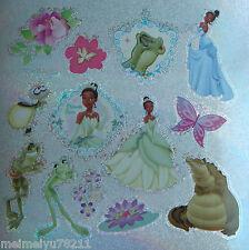 2x Sheets Sandylion Glitter Stickers Disney Frog Princess Tiana BUY2GET1FREE