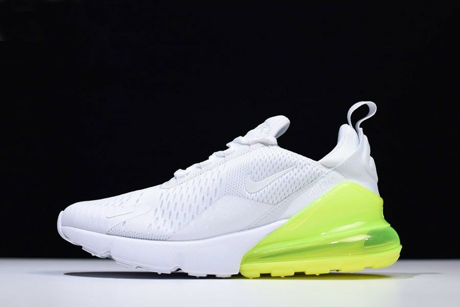 reputable site fd9f4 5d83f Nike Air Max 270 Baskets Blanc Pack Vert Homme Taille Taille Taille AH8050  104 EntièreHommes t neuf dans sa bo te 654037