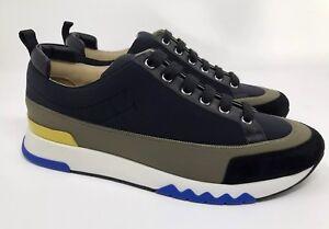 100-Authentic-Hermes-Suede-Goatskin-Technical-Canvas-amp-Calfskin-Rapid-Sneaker-42