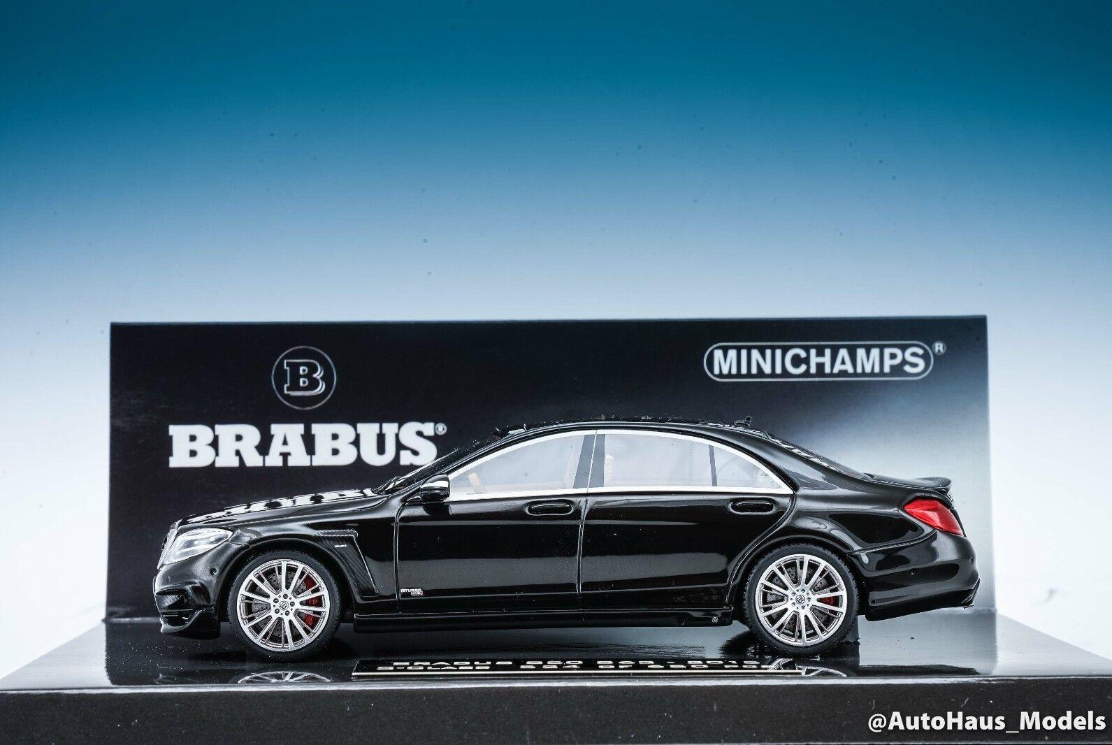 Minichamps 2015 MERCEDES BENZ BRABUS 850 S63 Classe S noir 1 43 objet neuf