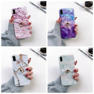Marble-Pattern-Case-Cover-With-Ring-Holder-for-iPhone-X-XS-XR-MAX-6-7-8-Plus