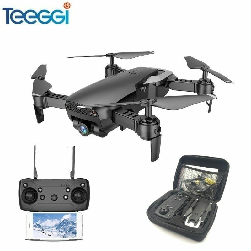 Teeggi M69 Fpv Drone With 720P Wide-Angle Wifi Camera Hd Foldable Rc Mini Quadco