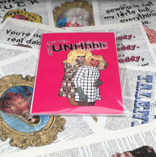 RuPaul Katya /& Trixie UNHhhh Card Blank Inside