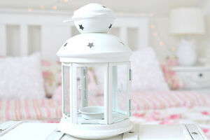 15-x-White-tealight-candle-hanging-metal-lantern-wedding-event-party-decoration