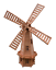 Wooden-Garden-Windmill-Large-85-cm-235-cm-Wood-Windmills-Garden-Ornaments thumbnail 27