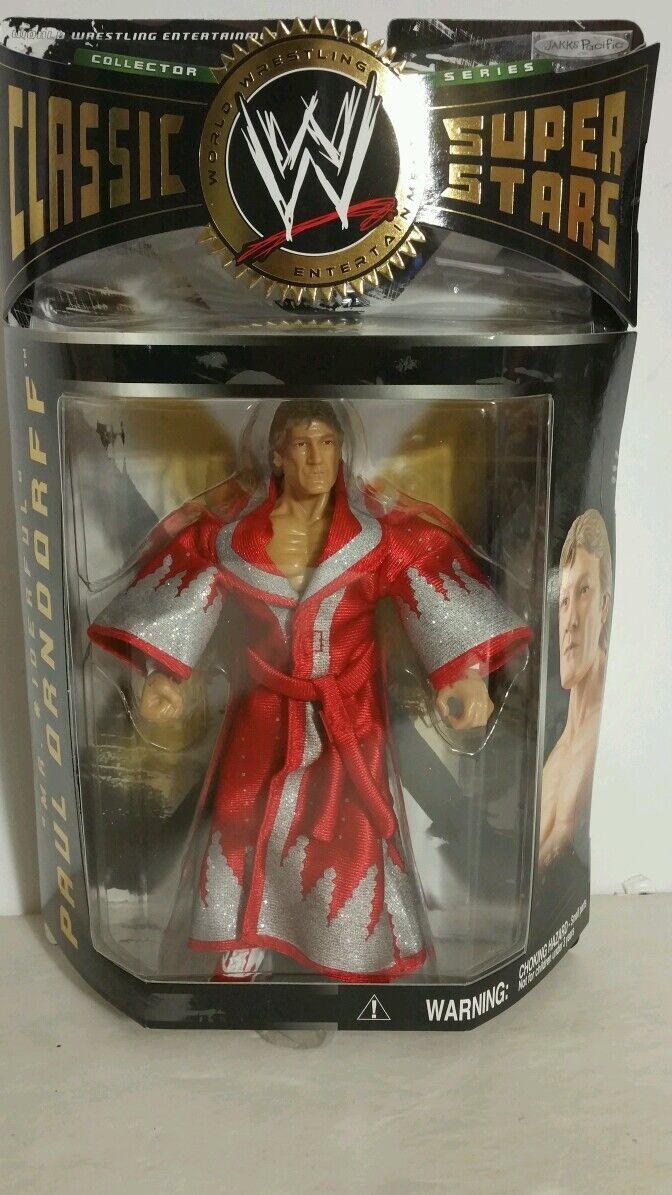 WWE CLASSIC SUPER STARS PAUL ORNDORFF ACTION FIGURE(081)