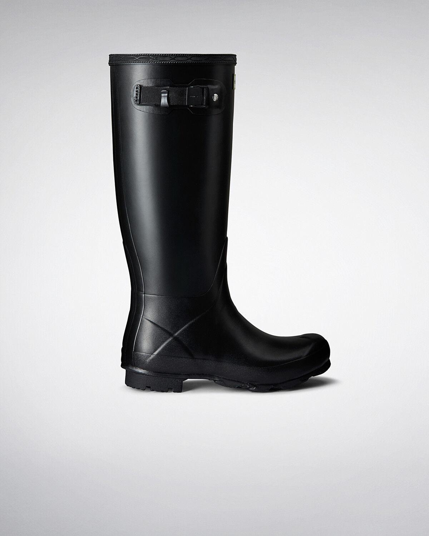 Stivali di Da gomma Hunter Wellies Da di Donna Originale Norris Nero Taglia 6 EU 39 e9f656