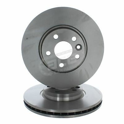 Ford Mondeo Mk4 Saloon 6//2007-2010 2.5 Front Vented Brake Discs 300mm 5 Stud