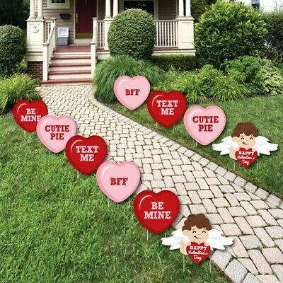 8PCS Large Valentines Tifeson Valentine/'s Day Decorations Outdoor