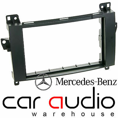 Mercedes B Class W245 2006 On Car Stereo Radio Double Din Fascia Kit