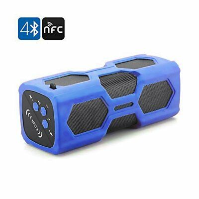 Portable Wireless Bluetooth Speaker w/ Power Bank Loudspeaker Blue Tooth Speaker