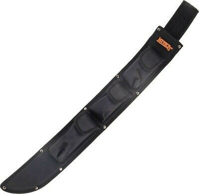 """Marbles Knives Machete Belt Sheath Fits up to 18/"""" Blade /& Sharpening Stone 394S"""