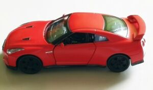 New City Nissan >> Details About Rmz City Nissan Gtr R35 Red Car 4 5 Inch Diecast Limited Edition