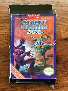 Street Fighter 2010 Final Fight Nes Nintendo Empty Box Only Ebay
