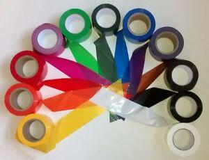 Absperrband-bunt-farbig-unifarben-75mm-x-100m-stabile-PE-Folie