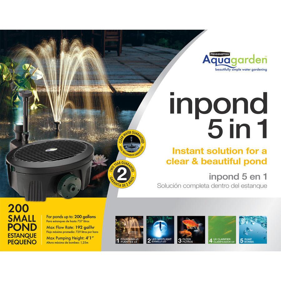 buona qualità Pennington 192-GPH Submersible Pond Pond Pond Pump  liquidazione fino al 70%