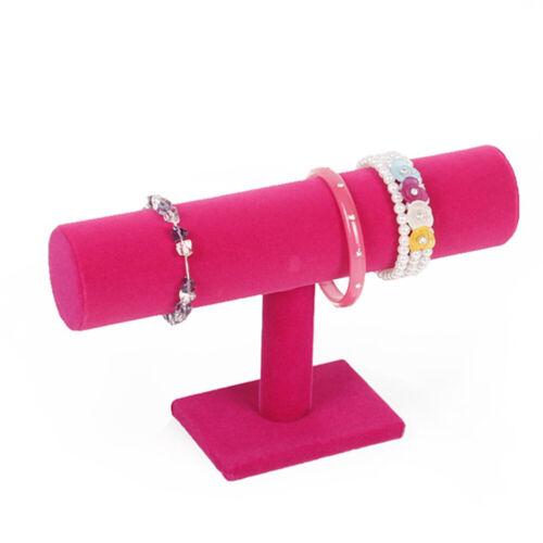 Schmuckständer Armbandständer Armbandhalter Uhrenaufsteller Organizer Samt 3 Typ