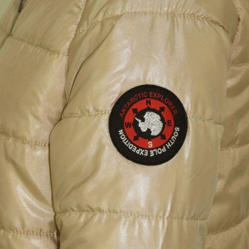 Kids Girls Jackets Stone Maya Faux Fur Stylish Hooded Padded Puffer Coats 5-13 Y