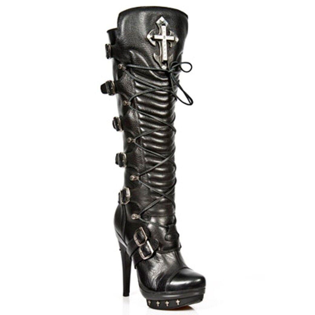 NEWROCK NR M.PUNK062 S1 Black - New Rock Rock Rock Boots - Womens f7821a