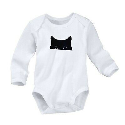 Humble Cat Puppy Head Romper Cute Newborn Baby 0-24 Months Girl Boy Long Sleeve 1221 Yet Not Vulgar