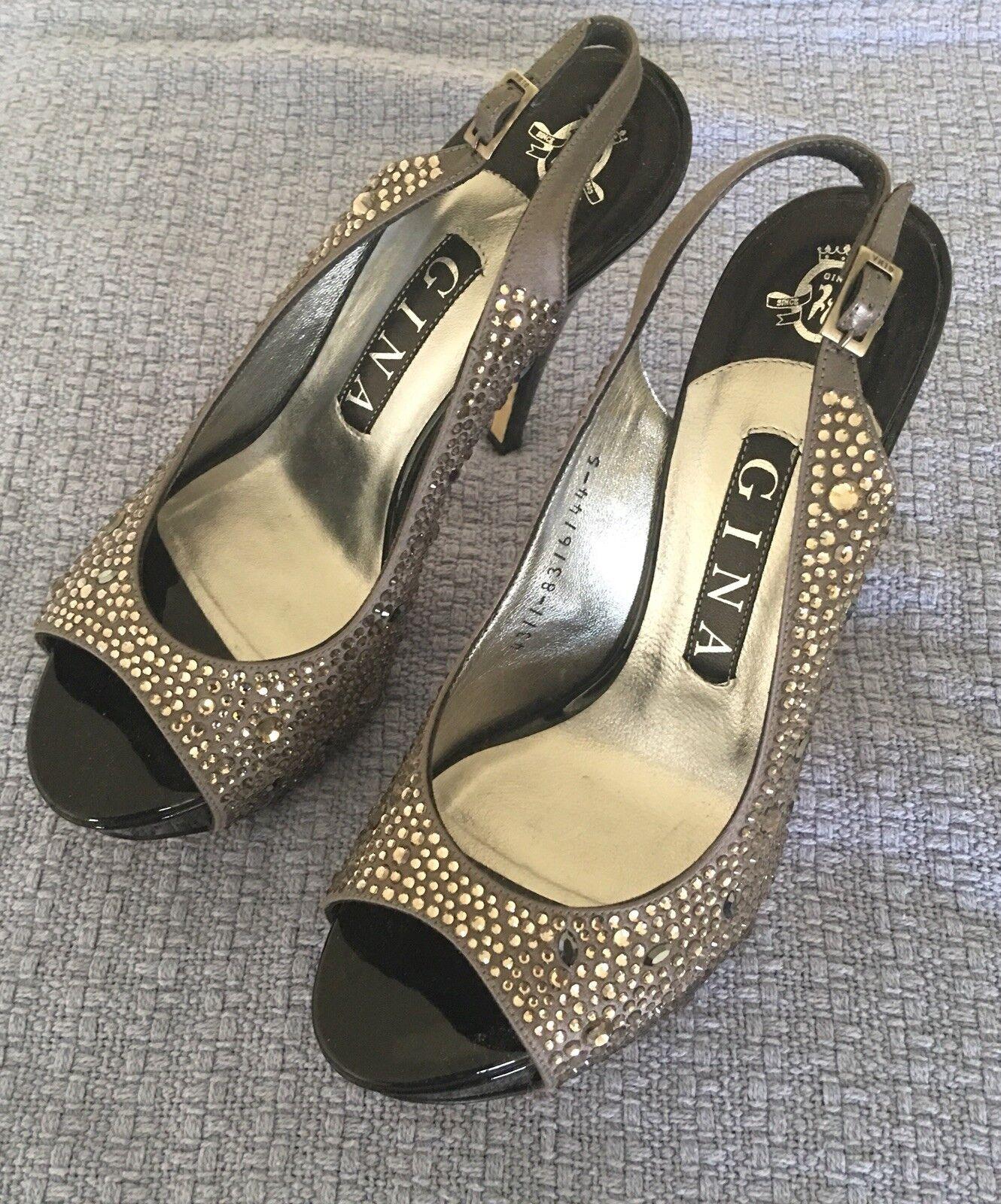 GINA SOM GÖRS I ENGLAND ENGLAND ENGLAND FAB DRESSY PLATTORM skor (sulor som är lite slitna, ögrönlen är i  billig och högsta kvalitet