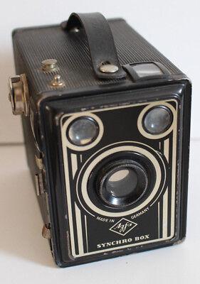 Boxkamera Agfa Synchro Box 600 Gebaut Zwischen 1949-58 Buy One Give One