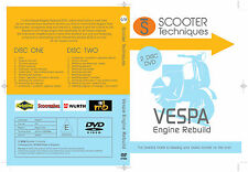 Vespa  Engine Rebuild DVD