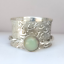 Opal-Gemstone-Solid-925-Sterling-Silver-Spinner-meditation-Statement-Ring-Size-P thumbnail 3