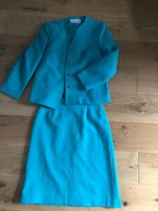eastex-size-14-16-blue-jacket-and-skirt-outfit
