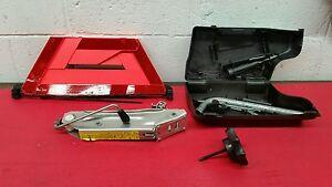 2001 Audi A4 Sedan OEM Jack Kit with Tools and Reflector Triangle