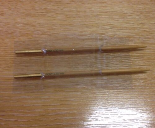 4mm Pony Bamboo Interchangeable Gold brass End Circular Knitting Pins 3mm