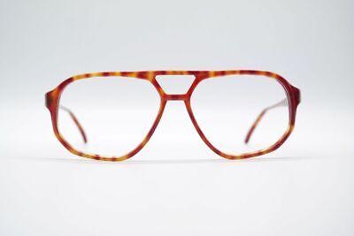 Vintage Embleme 500h 57[]20 140 Rot Oval Brille Brillengestell Eyeglasses Mangelware