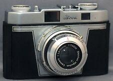 Iloca Rapid-B Germany 35mm Vintage Film Camera Cassarit f2.8 50mm Lens CLEAN!