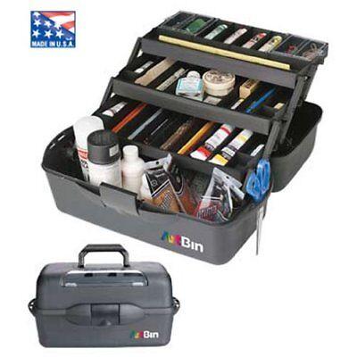 8237AB Black ArtBin  X-Large 3 Tray Art Supply Storage Box