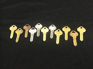 Corbin Russwin by Star 5RU7 Key Blanks, Set of 11 - Locksmith