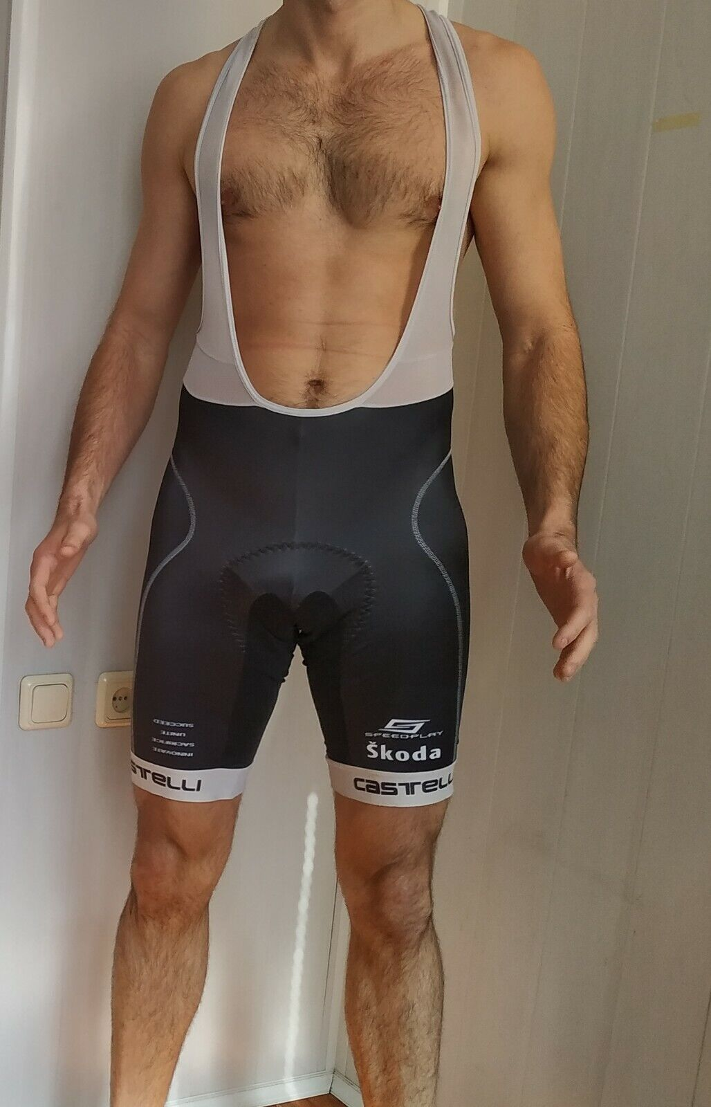 Castelli Bib Shorts ,Mens , Size - XXL , Good Condition