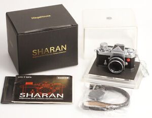 Sharan-MegaHouse-Classic-Camera-Collection-Modell-Nikon-F-chrome-Miniaturkamera