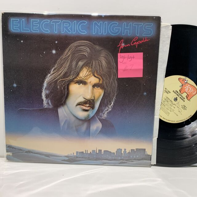 Jim Capaldi- Electric Nights- RSO Rock LP- VG+-/VG+ WOL